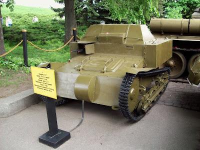 Один из первых танков Красной Армии