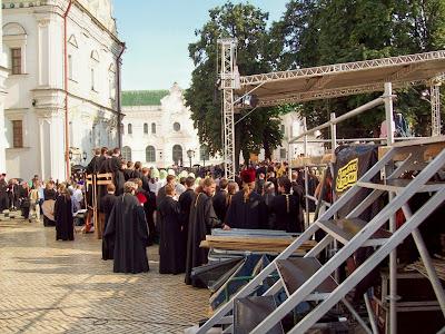 Подготовка к встрече Патриарха Кирилла