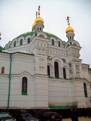 Трапезный храм Печерской лавры