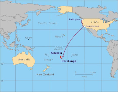 Joe and Syren have made it to the Cook Islands! Never heard of them?