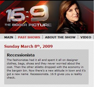 mikepic+global+tv The Other Stilleto has Dropped  The Recessionista on Global TV 16:9