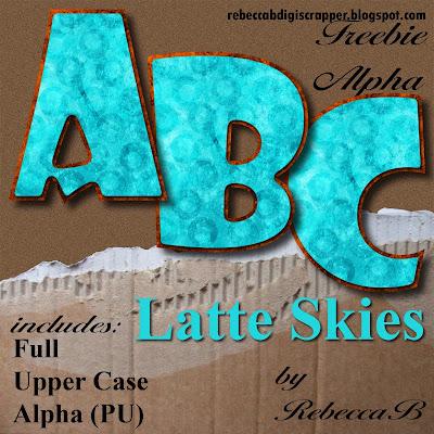 http://rebeccabdigiscrapper.blogspot.com/2009/07/latte-skies-alpha-freebie.html