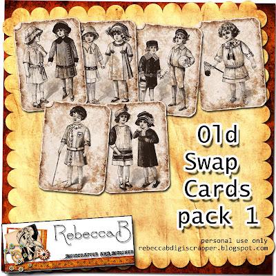 http://rebeccabdigiscrapper.blogspot.com/2009/09/vintage-swap-cards-freebie.html