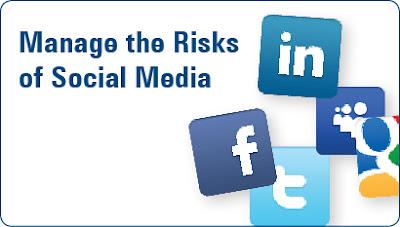social media, risks, managing, controll