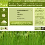 Free Rice from FreeRice.com