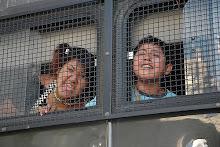 estado fasista encarsela a niños mapuches