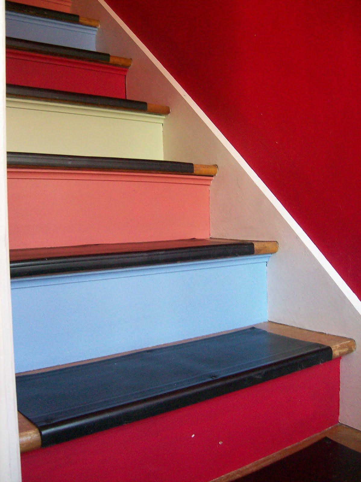 Maleriet fargehandel: er du tøff i trappa?
