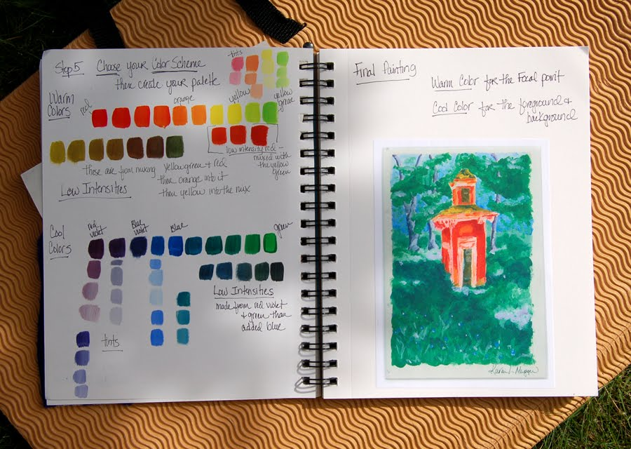 The Adventurous Art Teacher: Color Theory and the Recipe Book