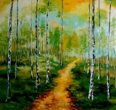 Elena Bissinger Painting