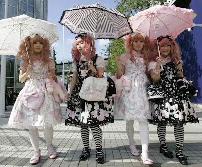 Moda pe strazile Japoniei