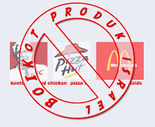 BOIKOT KFC, PIZZA HUT & McD.... mampukah aku...?