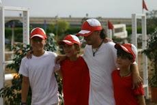 Steve, Philippe, Nacho e Alberto