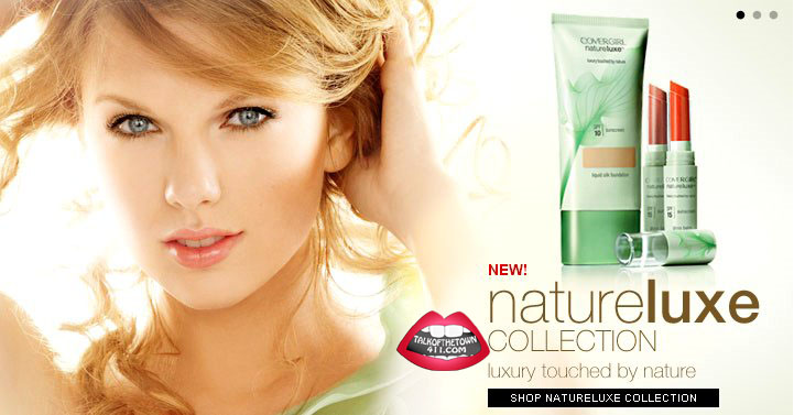 Tweet Swift is the face of CoverGirl's new line NatureLuxe, appearing in