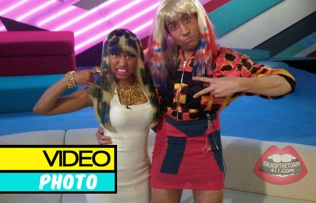 As if Nicki Minaj's trip couldn't get wild enough, a male talk show in