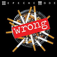 Depeche Mode single Wrong cover like cigarettes in ashtray