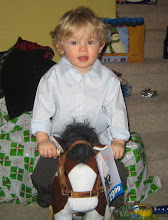 "Trevor and his ""orse"""