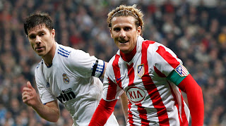 Spanish Football Diego Forlan