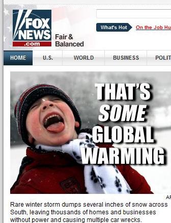 [FoxNewsOnGlobalWarming]