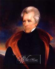 7º presidente - Andrew Jackson