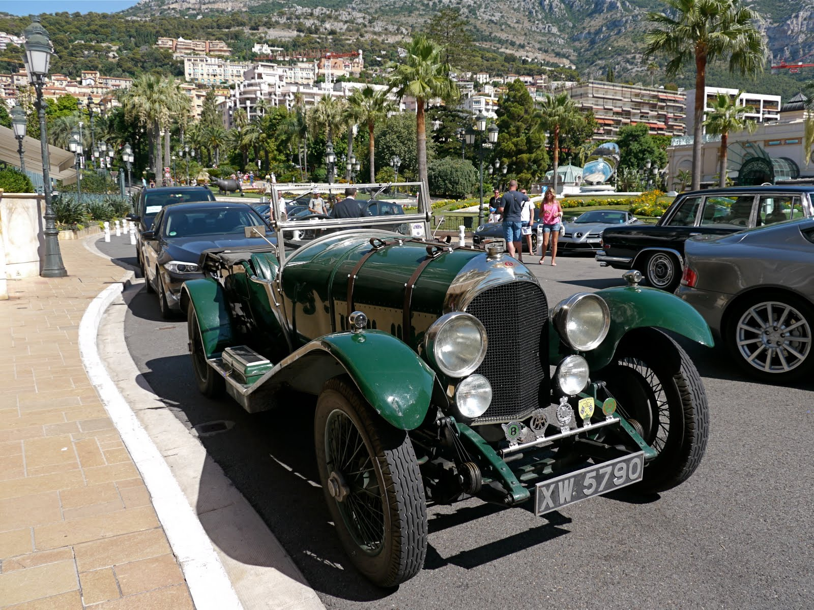 the Monte Carlo Rally had
