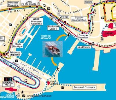 verdon sur mer how to get off cruise terminal