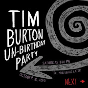 . homage Charlie. We'll have a Tim Burton movie marathon and amateur poker .