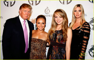 Hayden Panettiere with Donald Trump