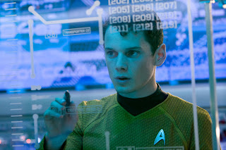 newly release Star Trek image on the bridge