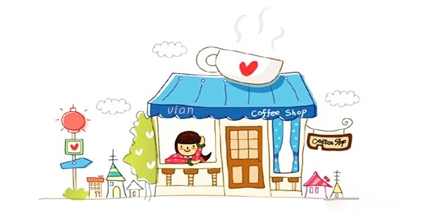 ♥ vian :: Smiling Cafe