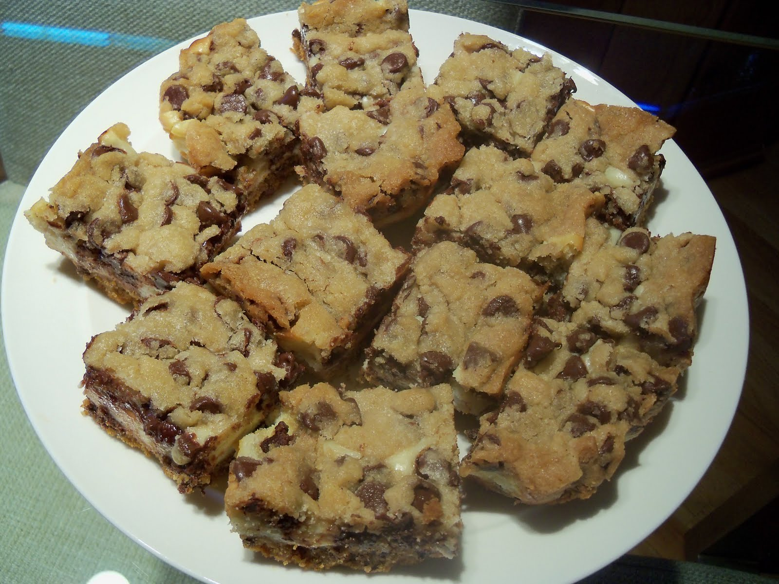 Cookie Dough Cheesecake Bars Recipes — Dishmaps
