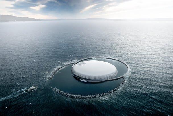 ville hybride deep ocean laboratory le labo de recherche du futur. Black Bedroom Furniture Sets. Home Design Ideas