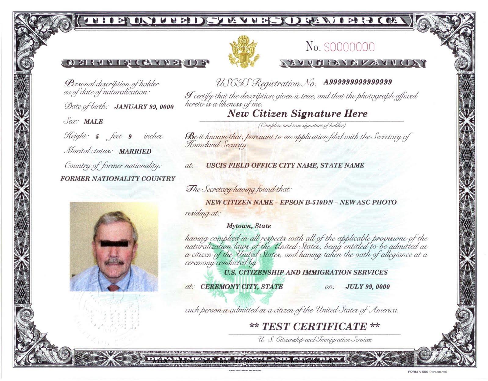 Michael Ryvinu0026#39;s Immigration Blog: USCIS Redesigns Naturalization ...