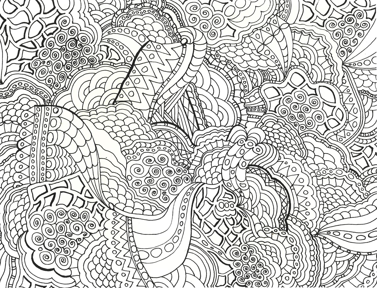 very detailed adult coloring pages - photo#27