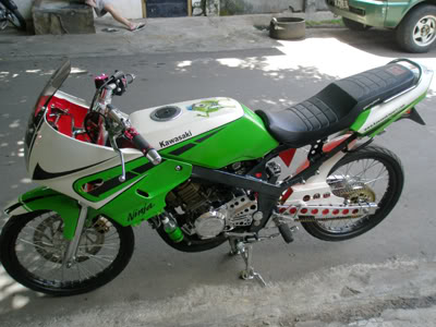 Modifikasi Kawasaki Ninja 150R Kawasaki Ninja 150R Modification Picture