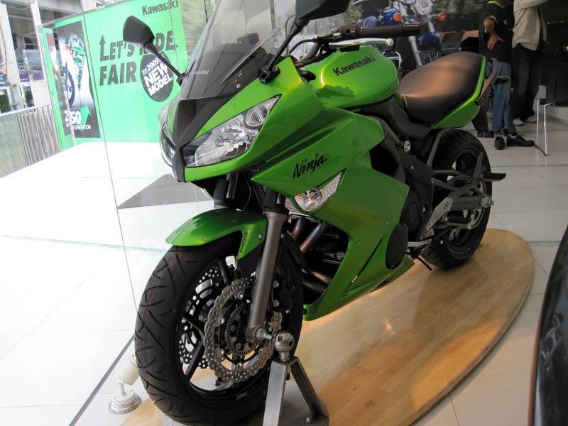 2010 Kawasaki Ninja 650R Pictures Gallery