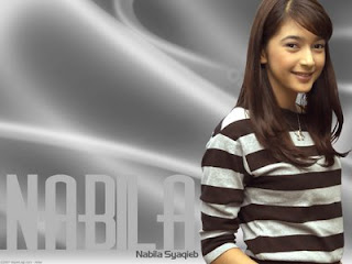 Nabila Syakieb Cute Wallpaper