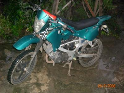 Suzuki Satria 1996 Modifikasi