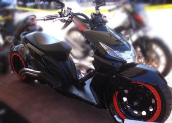 Honda Beat Black Edition Modification
