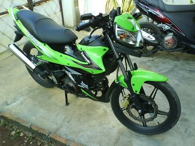 Kawasaki Athlete 125 cc R Modifikasi