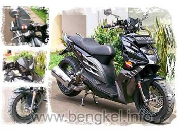 MODIFIKASI HONDA SKUTER BEAT