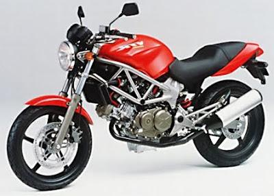 Honda VTR 250 vs Kawasaki Ninja ZX 250R