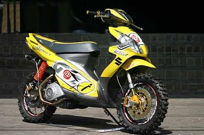 Gallery Foto Modifikasi Motor Yamaha Jupiter Mx Drag