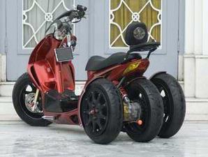 Honda vario fighter modification