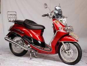 Yamaha Mio Retro Classic 2010
