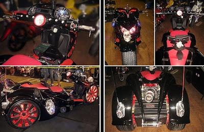 Modifikasi Honda Vario Trike Bober