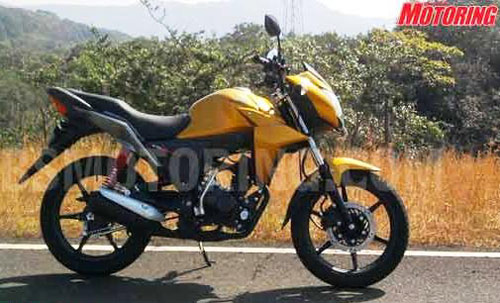 New Honda CB Twister 110cc 2010