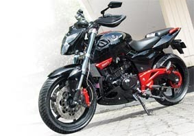 Modifikasi Bajaj Pulsar 2000 Sporty Style