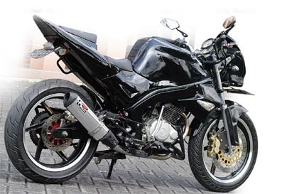 Honda Tiger Modifikasi Sport Dari Malang