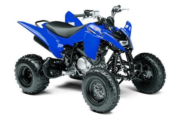 2011 Yamaha Raptor 125 Side View