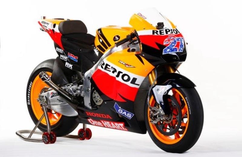 ducati 2011 motogp bike. Repsol Honda debut MotoGP